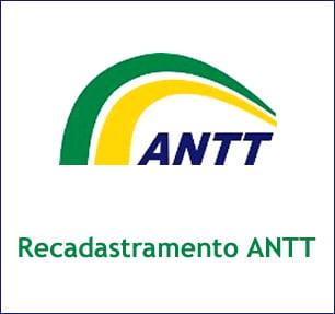 ANTT RECADASTRAMENTO